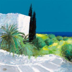 schilderij vue sur mer