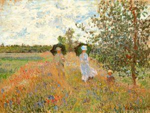 schilderij wandeling bij argentueil