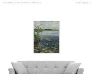 schilderij water lilies earnewald ii