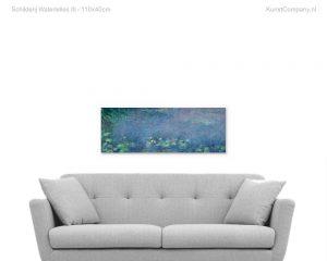 schilderij waterlelies iii