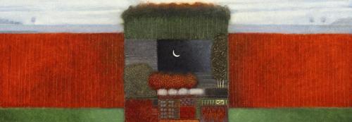schilderij when autumn comes around i