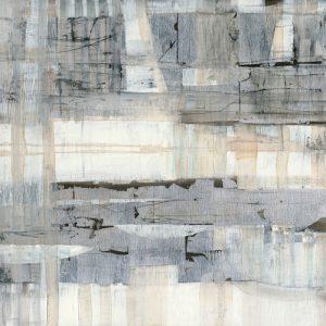 schilderij white night