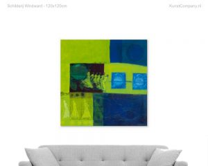 schilderij windward