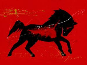 schilderij yegua