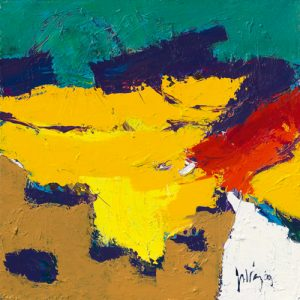 schilderij yellow plains