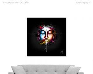 schilderij zen pop
