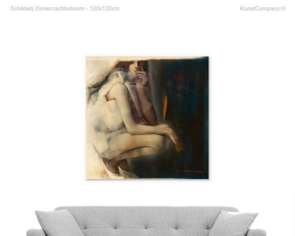schilderij zomernachtsdroom