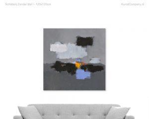 schilderij zonder titel i a