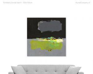 schilderij zonder titel ii b