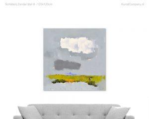 schilderij zonder titel iii c