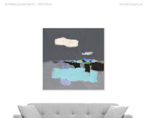 schilderij zonder titel iv d