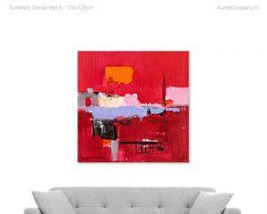 schilderij zonder titel kf