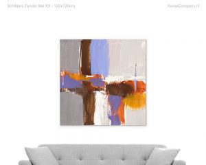 schilderij zonder titelx kr